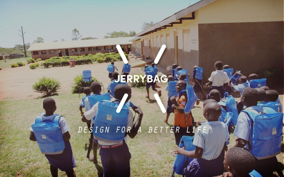 jerrybag and Shield backpack social impact