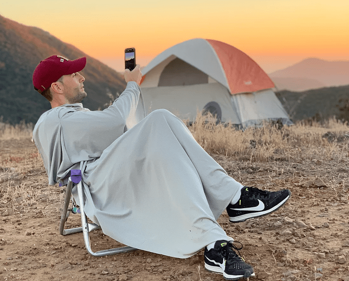 4-rest travel blanket camping