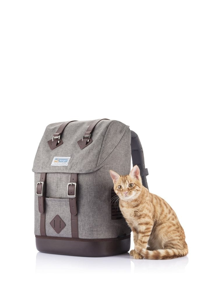the K9 rucksack for cats too