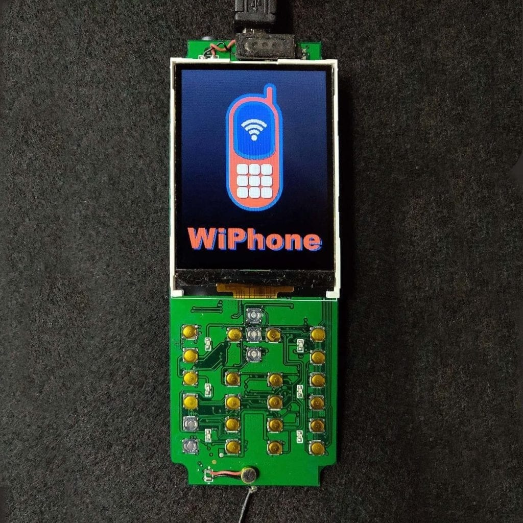 WiPhone for hackers green