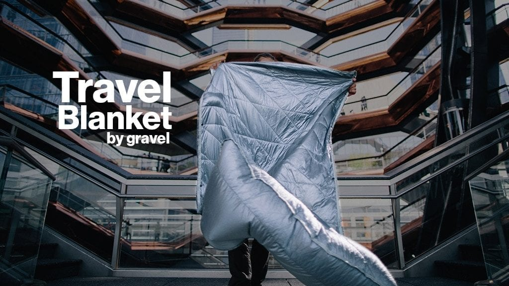 The Layover Travel Blanket for Comfortable Trips