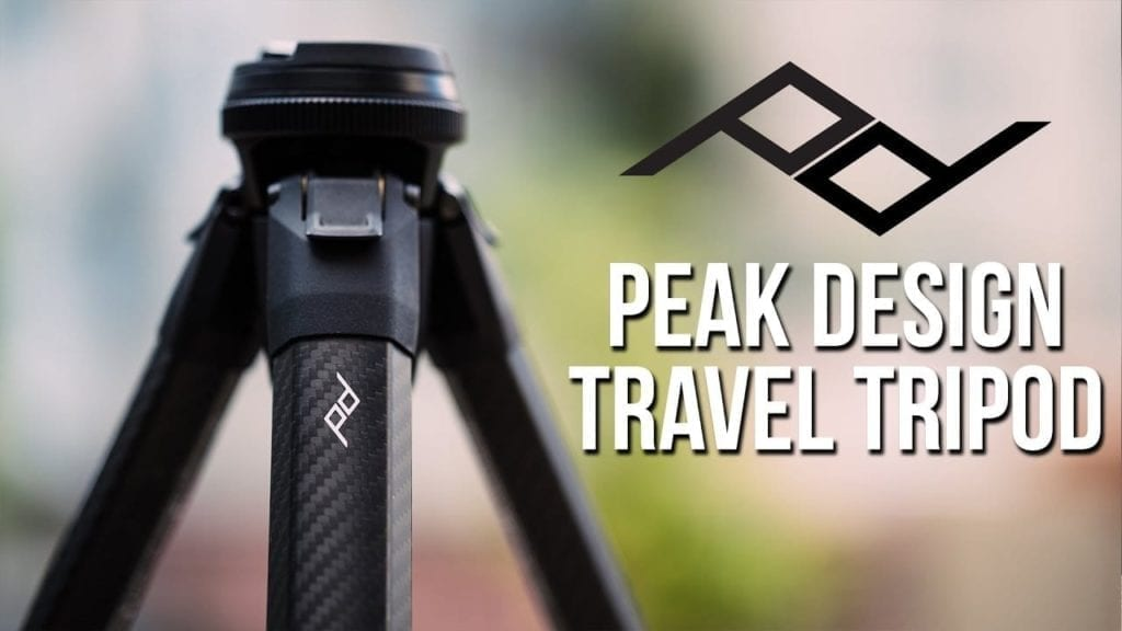 This Travel Tripod is Perfect for Photographers